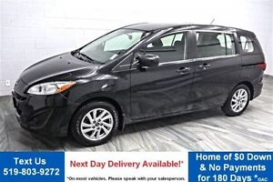 2015 Mazda MAZDA5 GS 6 PASS! QUAD CAPTAINS! CRUISE! POWER PACKAG
