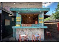 Permanent Food Stall at Netil Market / Unit B / Hackney / East London / London Fields