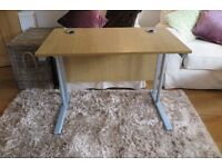 Beech effect Office Desk - perfect condition