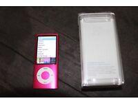 Apple iPod nano 5th Generation Pink (8GB) - Radio ,Camera