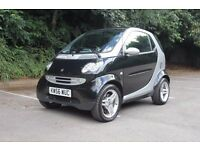 2007 Smart ForTwo Passion A/C heated leather 13 months MOT £30 road tax low mileage service history