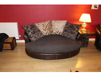 2 Seater Cuddle Sofas + Recliner Armchair