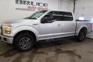 2016 Ford F-150 XLT 3.5L 6 CYL ECOBOOST AUTOMATIC 4X4 SUPERCREW