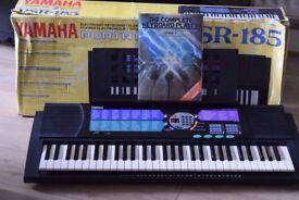 YAMAHA PSR-185 POWERDAPTER/BOX/MUSICBOOK HOLDER CAN BESEEN WORKING