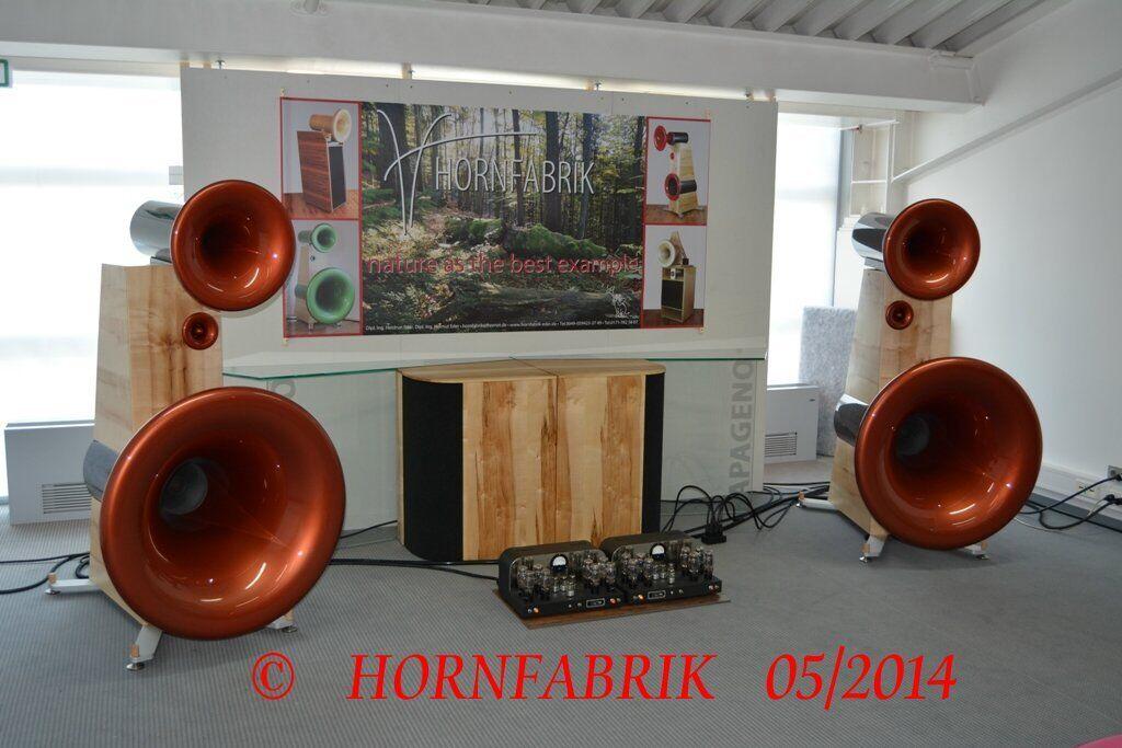 Hornfabrik Hornlautsprecher Röhren