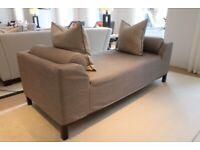 Luxury Chaise Lounge - Mocha - RRP £1,899