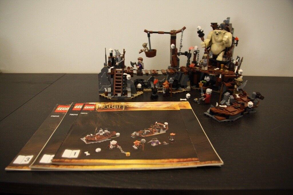 Lego The Hobbit - The Goblin King Battle - 79010