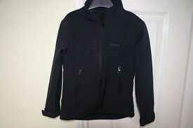 Boys Mountainlife softshell black jacket Age 5-6