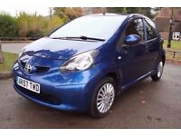 Toyota Aygo 1.0 VVT-i Blue 5dr £20 A YEAR ROAD TAX