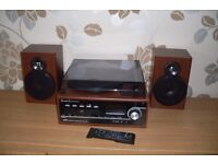 Recordable, cd, record player, radio, bluetooth