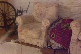 Cosy armchairs x 2