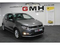 VOLKSWAGEN POLO 1.2 TSI BlueMotion Tech Match (s/s) 3dr (grey) 2016