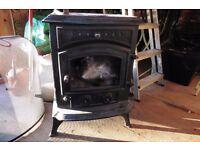 Sunrain 8 kw cast iron multifuel stove