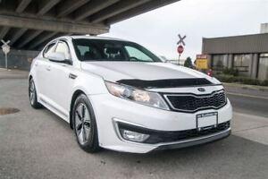 2013 Kia Optima Hybrid LX Low KM, Electric Hybrid!