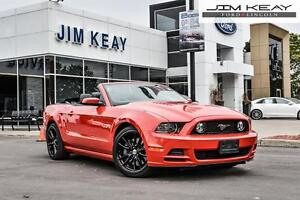 2014 Ford Mustang GT CONVERTIBLE PREMIUM W/ LEATHER & MANUAL