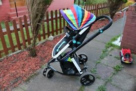 @@ Cosatto Giggle 2 Travel System - Go Brightly @@ HOME CLEARIENCE MUST GO !!@@