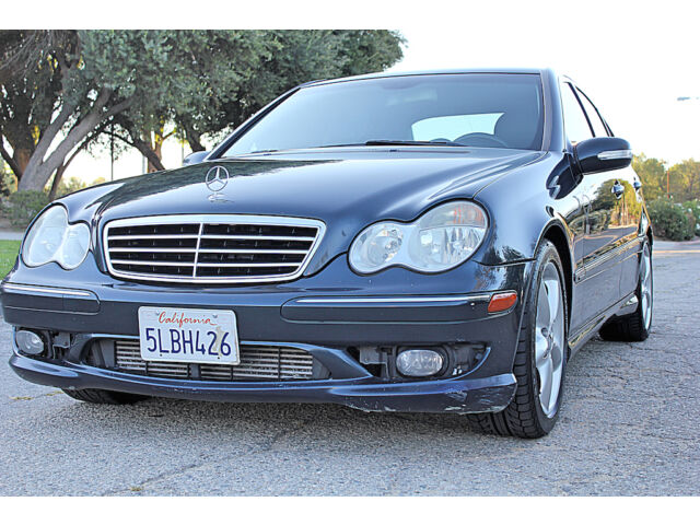 2005 mercedes c230 amg package full loaded no reserve for Mercedes benz sherman oaks