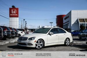 2011 Mercedes Benz C-Class C 300 AWD+INT. CUIR+TOIT OUVRANT