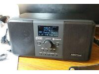 azatom digital radio with bluetooth