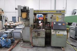 "14"" x 14"" Hyd-Mech H-14 Horizontal Band Saw"