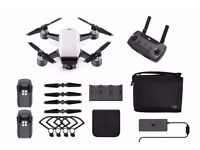 DJI Spark Fly More Combo Pack - Alpine White