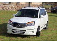 Ssanyong Turismo EX 4x4 4WD MPV 7 Seat Auto T-Tronic 5Dr People Carrier 2015 VGC
