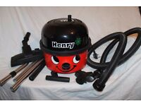 Numatic Henry Henry HVR200. All tools. Boxed. As new.