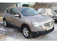 2008 Nissan Qashqai DCi.. 4x4.. Diesel.. BARGAIN £1595..