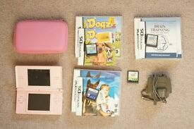 Console Nintendo DS lite + games + charger