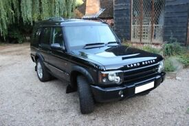 Land Rover Discovery 2 II - Black Leather Facelift - FSH