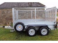 CAR TRAILER INDESPENSION V674 2700kg