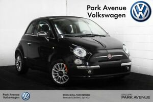 2014 Fiat 500c Lounge // DÉCAPOTABLE | CUIR | PARKING SENSORS