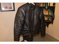 Stims Full Leather Motorbike Jacket and Trousers