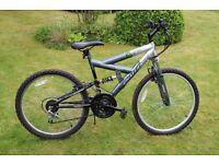 Challenge Sceptre 24in boys' dual suspension bike