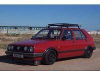 1990 VW Volkswagen MK2 Golf CL Modified