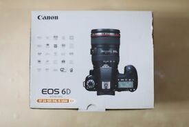 Canon EOS 6D Digital SLR Camera with 24-105 mm Lens