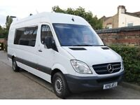 313 CDI Sprinter/Splitter van, high quality built for the music and film industry use