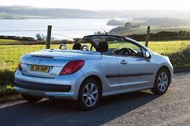Peugeot 207 CC Sport Silver 33000 Miles