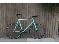NEW IN!! !!! Steel Frame Single speed road bike fixed gear racing fixie bicycle 9LO0