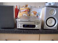 DENON DAB RADIO AUX IN PLAY IPO PHONE CD NOT WORKING/DAB ANTENNA