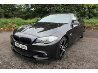 "12 BMW 520D M SPORT AUTO TIPTRONIC 181 BHP ++ 20"" M5 ALLOYS , M PERFORMANCE BODYSTYLING , LEATHER ++"
