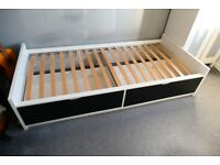 Single Bed with Storage Drawers (Ikea)
