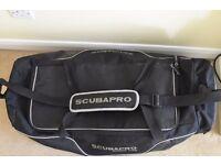 Scubapro jumbo dive bag 80L