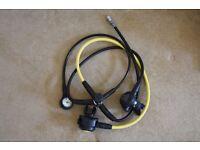 Scubapro MK2/R295 regulator with R295 octopus and Scubapro compact pressure gauge