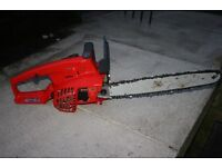 "38cc 16"" Alpina petrol chainsaw"