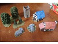 Warhammer Scenery (trees, buildings)