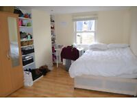 Super bright double bedroom in very friendly house share! - great location in central hammersmith