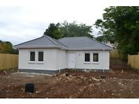 New Build detached 2 bed bungalow