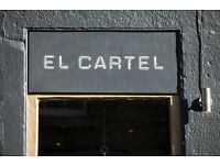 El Cartel is looking for a strong chef to strengthen existing their team