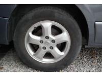 renault trafic/vauxhall vivaro sportif alloy wheels and tyres 2013